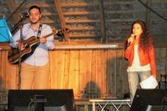 Fahed Chughry und Dima Outaki aus Syrien Musik und Narration