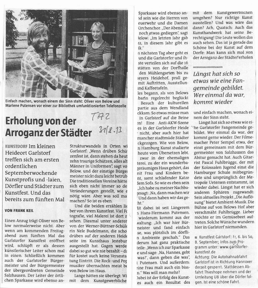 2013.08.31 – TAZ – Vorbericht GKF 001